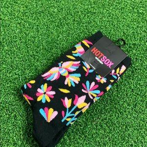 Flower Bird Crew Socks